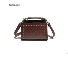 Latest Embossed High Quality Luxury Trend Lady Genuine Leather Handbag