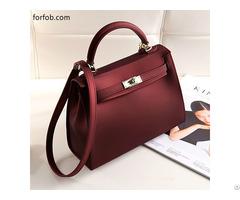 Custom Handmade Luxury Latest Lady Genuine Leather Handbag Women Bag
