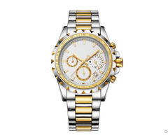 Chronograph Men Watch With Swiss Movt