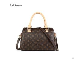 Custom Color Leisure Women Bag Square Faux Ladies Leather Handbag