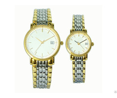 Minimalist Stainless Steel Couple Watch
