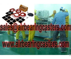 Air Caster Systems Is Designed For Moving And Handling Tools