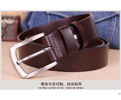Top Cow Genuine Leather Men Belts Newest Arrival Hot Design Jeans Belt For Male