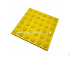 Easy Touch Feeling Blind Tactile Rubber Tile Paving Braille Floor