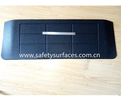 Various Thickness And Size Garage Rubber Ramp Express Home Use