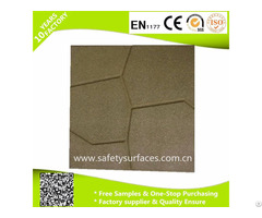 Outdoor Rubber Brick Pavers Sandstone Garden Walkway Paving