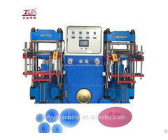 Automatic Green Silicone Stretch Lids Making Machine
