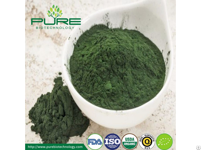 Green Spirulina Powder