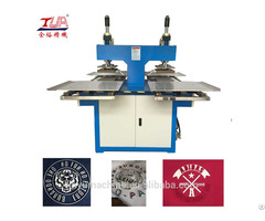 Automatic Hot Stamping Embossing Machine For Leather Belt Logo