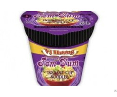 Tom Yum Flavour Instant Noodles In Cup