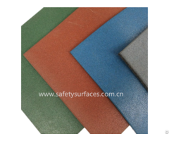 Rubber Outdoor Flooring For Kids Safety Play Area Children Playground