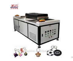 Jy S02 Custom Soft Pvc Keychain Baking Machine