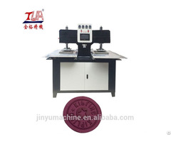 Automatic Garment Silicone Logo Making Machine