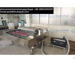Multepak Automatic Continuous Conveyor Belt Vacuum Packaging Sealer Machine