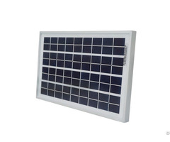 10w 12 Volt Polycrystalline Solar Panel With High Efficiency Cells