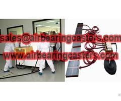 Air Bearing Casters Modular