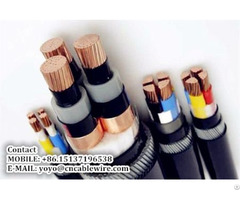 Shengzhou Metal 0 6 1kv Copper Xlpe Power Cable With Steel Wire Armour