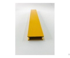 Smooth Colorful Insulated Fiberglass Grp Rectangular Tube