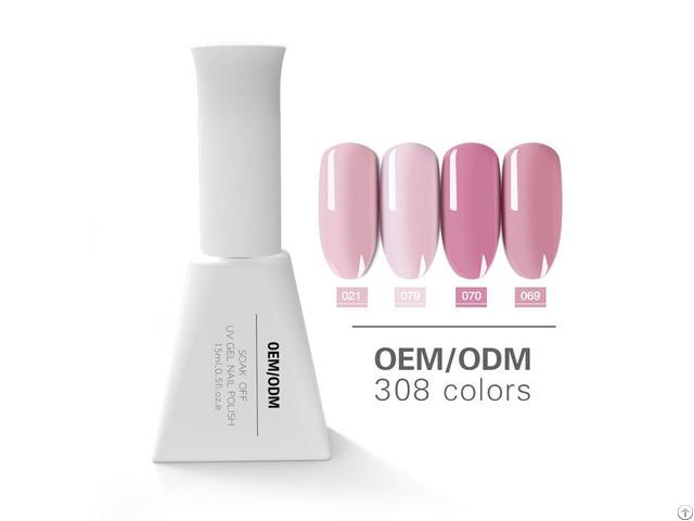 High Quality Nail Salon Uv Gel Soak Off Nails Private Label Pure Color