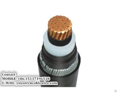 Armored Power Cable
