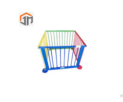 High Quality Baby Folding Wooden Fence Infant Gate