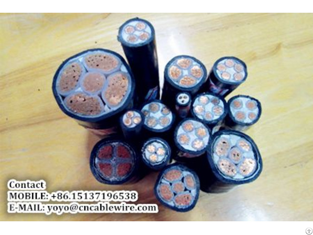 Shengzhou Metal Xlpe Insulated Power Cable