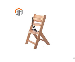 Qualified Safety Baby Wooden High Chair