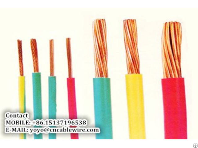 Shengzhou Metal Pvc Insulated Wire