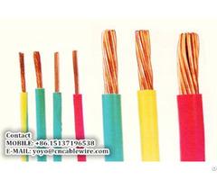 Shengzhou Metal Pvc Insulated Wire