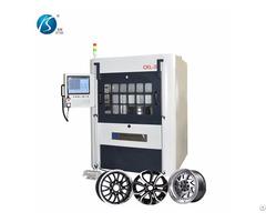 Automatic Cnc Wheel Lathe Ckl35 With Laser Probe