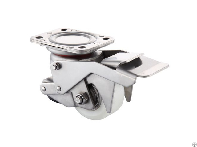 Leveling Casters With Foot Pedal