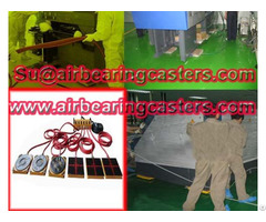 Air Caster Rigging System Adjustable Easily