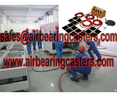 Air Pads For Moving Equipment With Picture