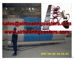 Air Pads For Moving Equipment Machinery
