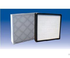 Minipleat Medium Efficiency Box Filter