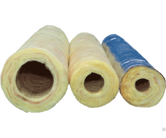 Heat And Cold Insulation Rock Wool Tube For Steam Pipe