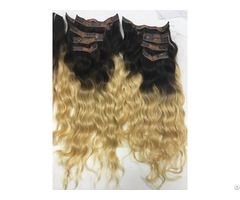 Clip In Bodywave Hair Extensions 18 Inches
