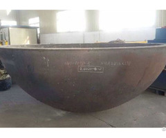 Hemispherical Ellipsoidal Dished Heads China Tank Head Manufacturer