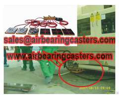 Air Caster Load Moving Equipment Hot Sale