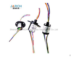 Jarch High Performance Mini Capsule Slip Rings Rotary Electrical Connectors Electro Joints