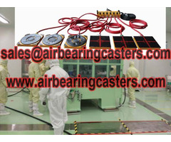 Air Casters Parameters And Applications Six