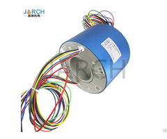 Jarch 60mm Through Bore Rotary Slip Ring 250 500 Rpm For Medical Equipment