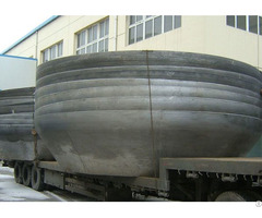 Stainless Steel Beer Storage Tank Conical Head