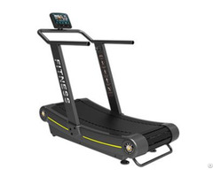 Gym Use Non Motorized No Power Curve Treadmill