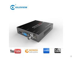 Hd1080p To1080i Hdmi Vga Av Cvbs To Sdi Audio Converter