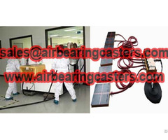 Air Castersmove Cleanroom Machinery Is Used Worldwide
