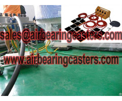 Air Caster Load Moving Equipment Price Range Introduce