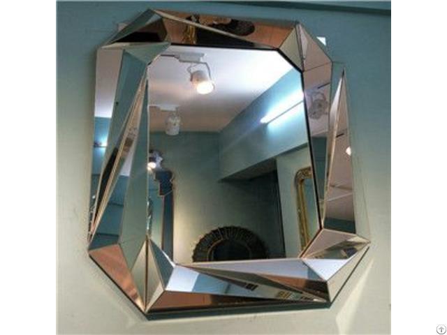 Precious Diamond Decorative Wall Mirror For Livingroom Bathroom Dining Room