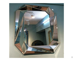 Precious Diamond Decorative Wall Mirror For Livingroom Bathroom Dining Room