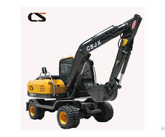 Changsong 8t Wheel Excavator
